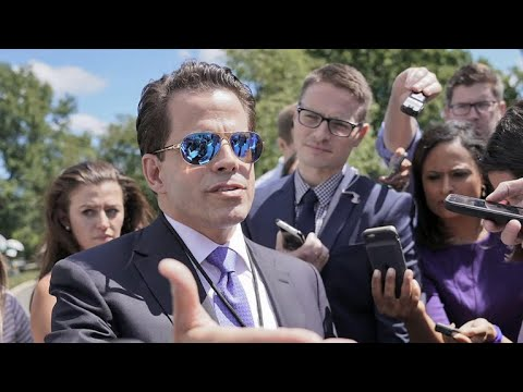 Anthony Scaramucci fired from White House after 10 days