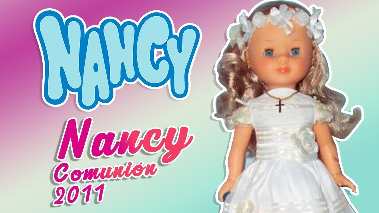 Muneca nancy vestida de comunion