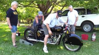 First Run, Supercharged World's Fastest Velocette