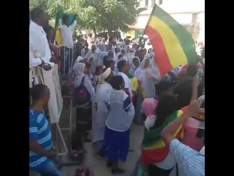 Ethiopian Jewish stands with the people of Ethiopia-They are fighting for the true flag of Ethiopia