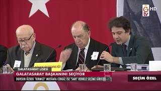 Seçim Özel | Galatasaray Başkanını Seçti (20 Ocak 2018)