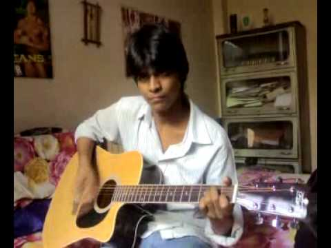 Are ruk jaa re bande guitar cover by anubhav