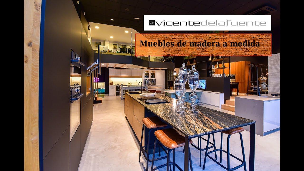 Muebles de cocina a medida en Santiago - Vicente de la Fuente - YouTube