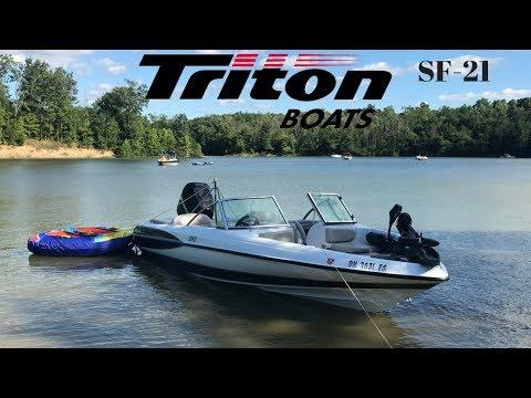 Triton Boats Triton SF-21   Triton Ski And Fish 21 Foot