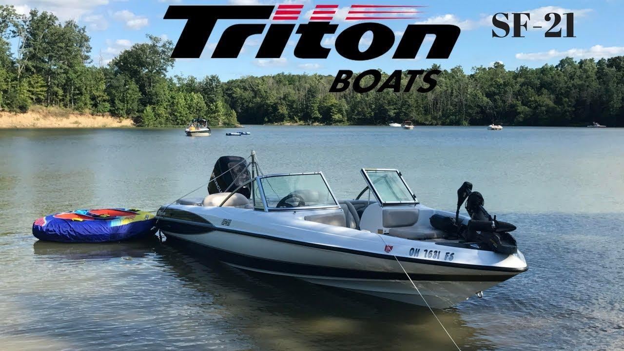 Triton boats triton sf 21 triton ski and fish 21 foot for Triton fish and ski