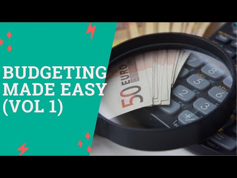 BUDGETING (LIES YOU HAVE BELIEVED ABOUT BUDGETING) VOL 1