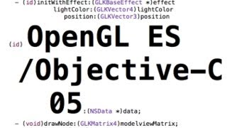 OpenGL ES/ Objective-C Game Tutorial part 5: Loading a image