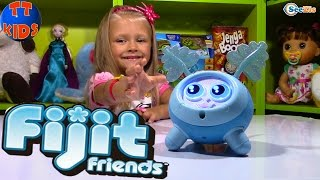 Интерактивная игрушка Фиджит. Распаковка игрушек от Ярославы. Видео для детей - Fijit Friends