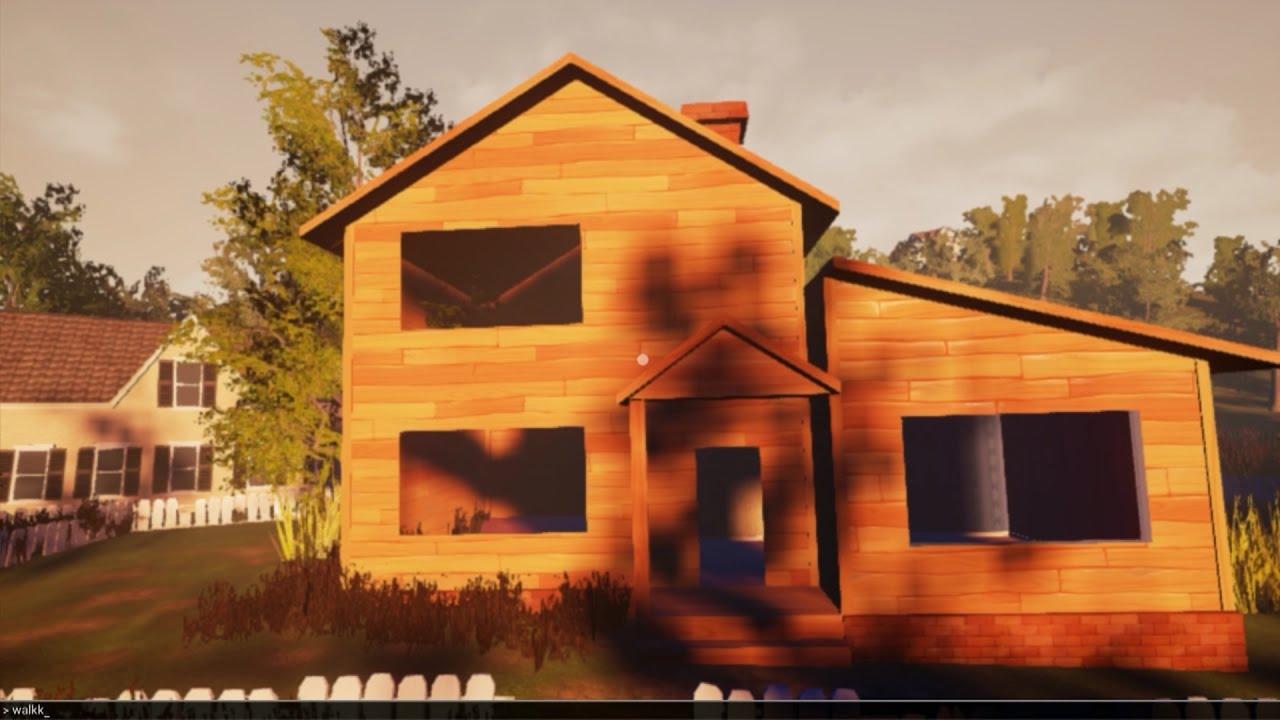 The hello neighbor house - Our House From Hello Neighbor Alpha 1 In Alpha 2