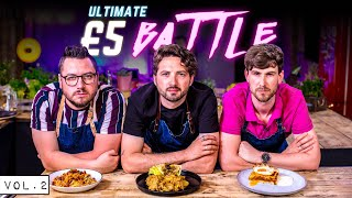 ULTIMATE 5 BUDGET COOKING BATTLE!! Vol.2  SORTEDfood