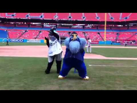 Mascot Musical Chair with a Bad Ending
