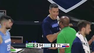 Nigeria Beats World's Nuṁber 4 Argentina, After Shocking USA In Basketball