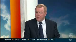 ABC News Breakfast Interview with Rod North 30 September 2014