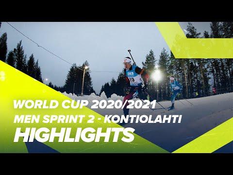 Kontiolahti Men Sprint 2 Highlights