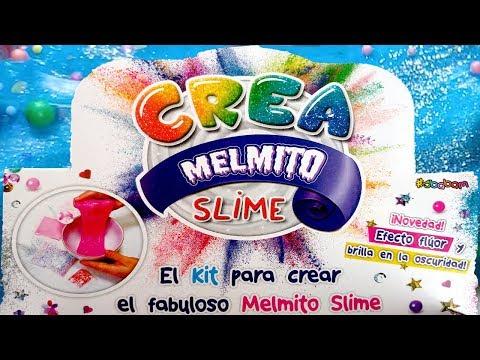 Crea Melmito Slime | Kit Para Crear Melmito Slime | Brilla En La Oscuridad