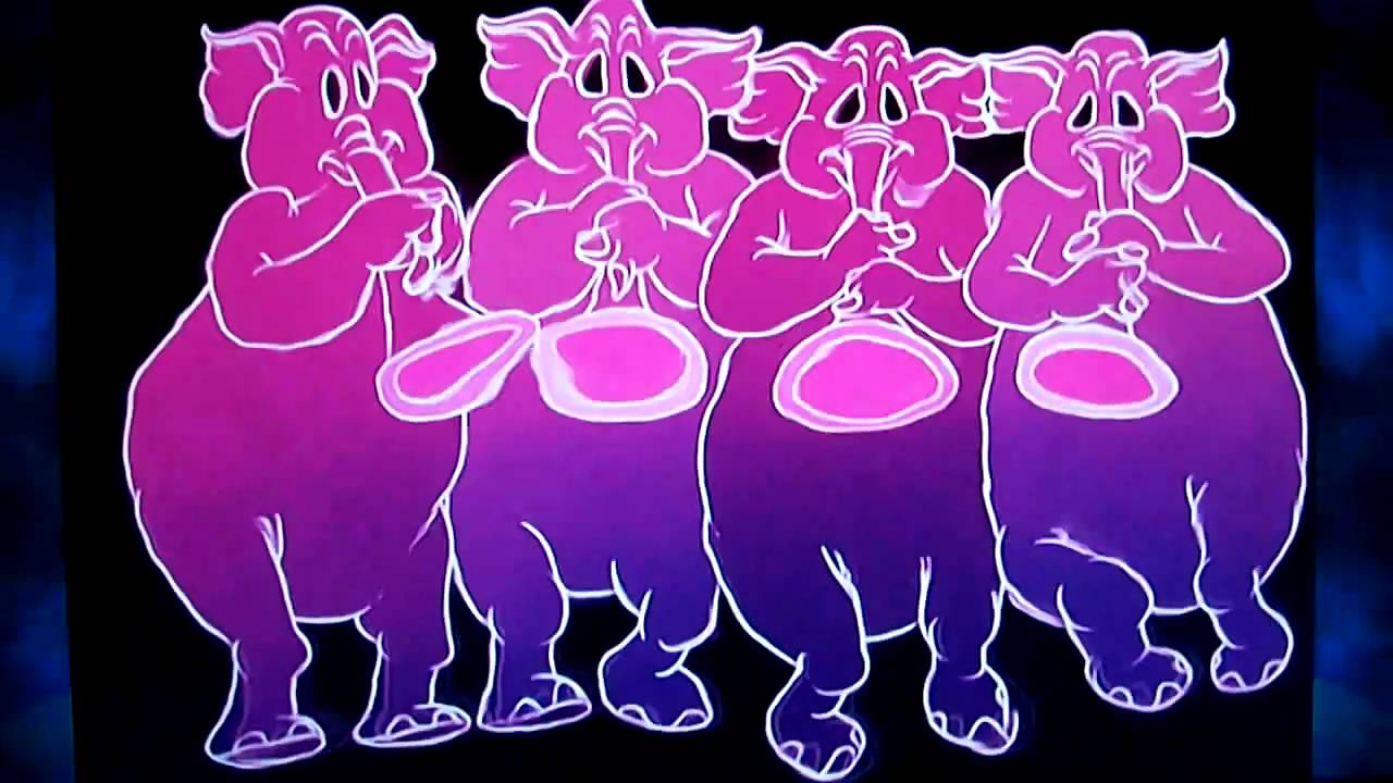Dumbo Pink Elephants On Parade Youtube