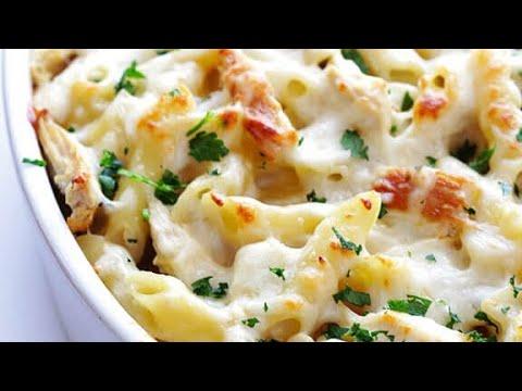 How To Make White Sauce Pasta Without Maida | Chakor Paratha