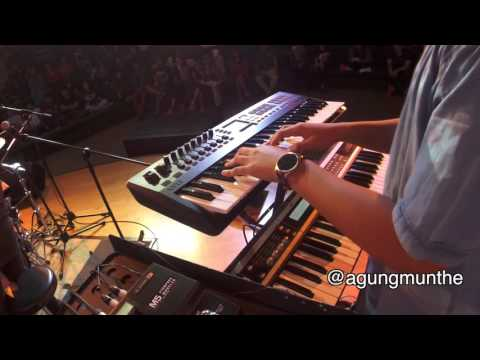 Snarky Puppy - Thing of Gold (synth bass cover)