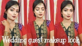 wedding guest makep look  Party makeup  easy and simple