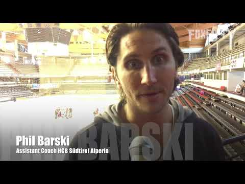 First interview with Assistant Coach Phil  Barski