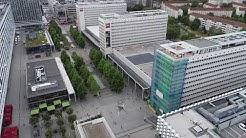 The Student Hotel & Werbeplan Dresden - Lichtwerbung Prager Straße (ehem. Interhotel)