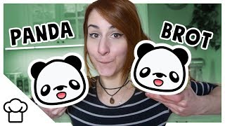 Süßes Panda Brot mit Matcha!