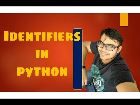 #3 Python tutorial for beginner |  python identifier | language fundamental thumbnail