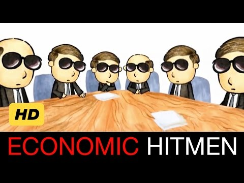 Economic Hitmen Cartoon [HD]