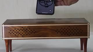 원목소품Unplugged wooden speaker3