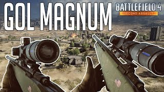 Battlefield 4 - GOL Magnum Gameplay (Aggressive Recon)  - Gulf Of Oman 2014 - Second Assualt BF4
