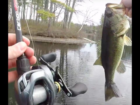 How To Pre-Fish A Bass Fishing Tournament - Knops Pond MA