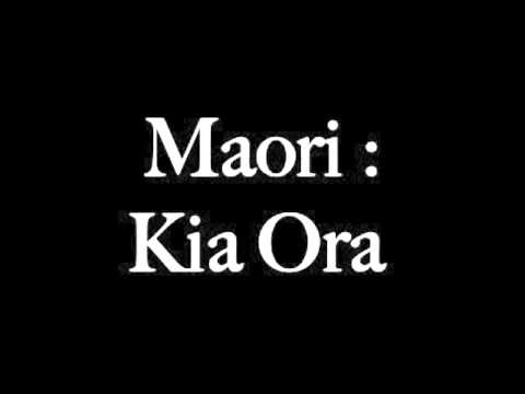 How to say hello in maori youtube how to say hello in maori m4hsunfo