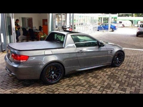 BMW M3 Pickup Truck Is Utility Packed Performance Bimmer !