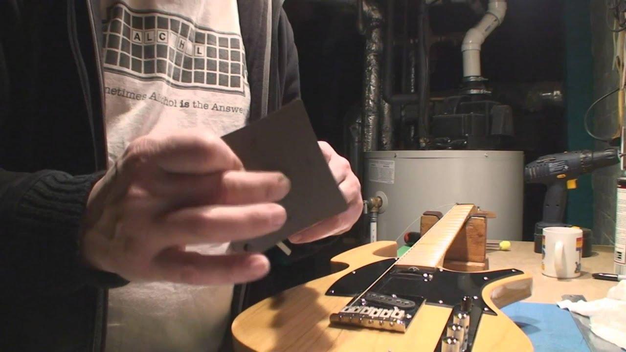 parker p 36 guitar repair part 2 [ 1280 x 720 Pixel ]