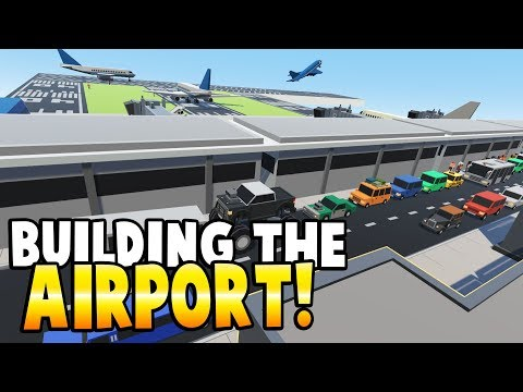 BUILDING A TOY MODEL AIRPORT! - Tiny Town VR Gameplay - Tiny Town Better Then Lego? Lego Airplanes!