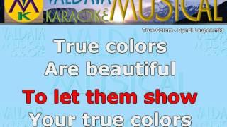 True Colors Cyndi Lauper Karaoke