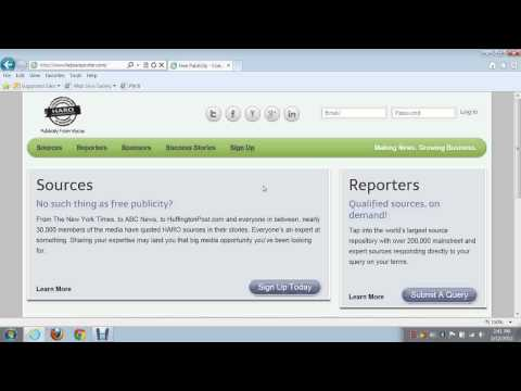 Help a Reporter Out or H.A.R.O a Great Traffic Source