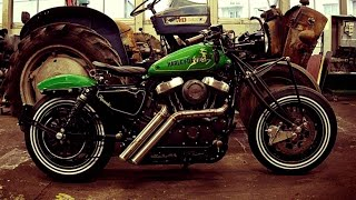 #Harley Davidson #Sportster Forty-Eight THE #BATTLE of the #Kings by H-D Strasbourg - France