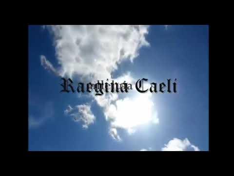 Regina Coeli  - Canto gregoriano con letra  Latin chant with