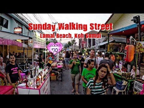 Debby Does Lamai: Sunday Walking Street. (GoPro4) (Not P.C.)
