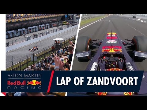 Take a lap of Zandvoort | Jump on board with Max Verstappen around Circuit Zandvoort
