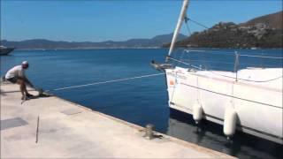 Обучение яхтингу в яхтенной школе ЯХТ ДРИМ. Экзамен по швартовке в одного  6 лет назад.