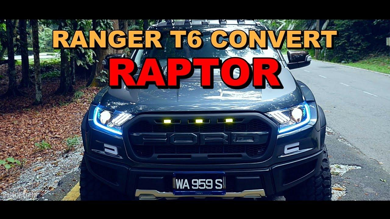 Ranger Raptor Wide Bodykit Ranger T6 Convert By Sham Bodykit