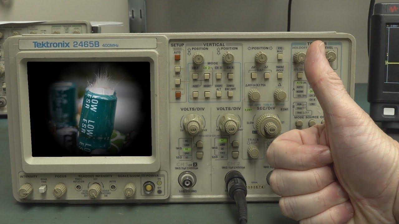 Eevblog 1203 Repair Tektronix 2465b Oscilloscope Youtube