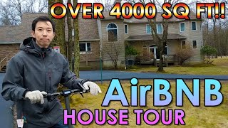The Best Place For A Vacation Rental Investment - Pocono Mountain Airbnb House Tour