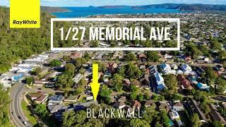 1/27 Memorial Ave BLACKWALL