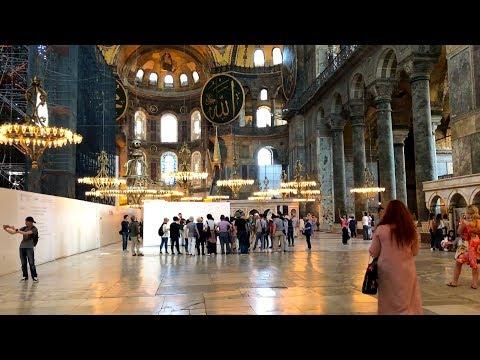 Hagia Sophia / Ayasofya Museum Virtual Tour | İstanbul 2018 ᴴᴰ