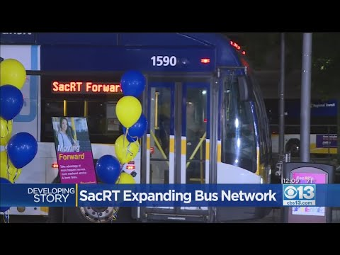 Sac RT Celebrating New Bus Schedule With Free Rides Through Wednesday