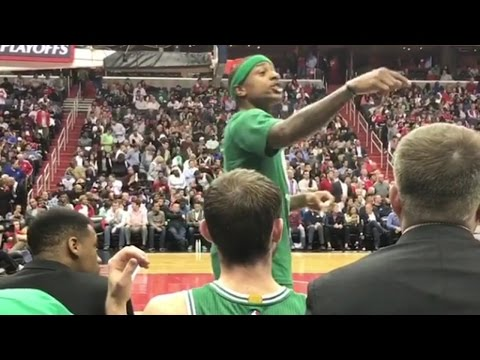 "Isaiah Thomas THREATENS Wizards Fan: ""I Will F**K You Up"""