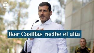 """Casillas recibe el alta: """"Estoy mucho mejor, pero no sé lo que va a pasar en el futuro"""""""